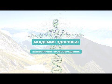 Курс Природное здоровье Капиллярное кровообращение