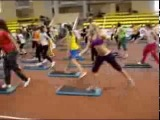 Step by Carlos Ramirez Fitness Summit 12-13 Oct 2013 SPb Russia