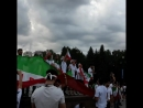 иранские болельщики больше проявили себя после матча, они тоже очень круты))