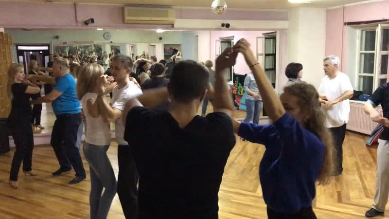 🔥Тренировочный процесс или как мы танцевали в четверг 18.10.18