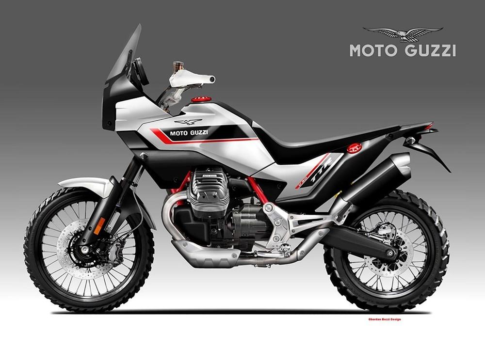 Обердэн Бецци: концепт Moto Guzzi V90 TTR