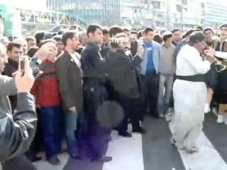 Kurdish Dance by Iranian Kurds in Tehran