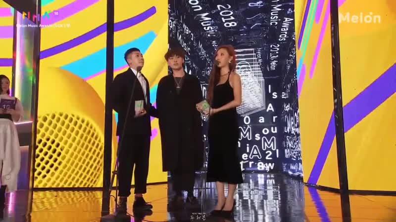 [01.12.2018] MelOn Music Awards 2018: Loco х Hwasa х Woogie