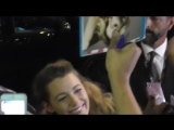 Blake LIVELY with fans @ Paris 18 september 2018 red carpet of A simple favor avant premiere