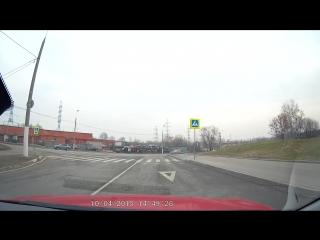 Разворот на перекрестке№2 ул. ратная с пересечением ул.старобитцевской (online-video-cutter.com)