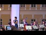 Fantine, Игорь Бутман и Московский джазовый оркестр. Дворцовая площадь 26.05.2013