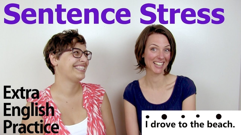 Sentence Stress: Content and Function Words