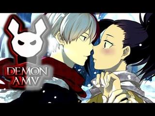 My Hero Academia AMV ▪ Shouto Todoroki & Momo Yaoyorozu AMV - Flirt ᴴᴰ
