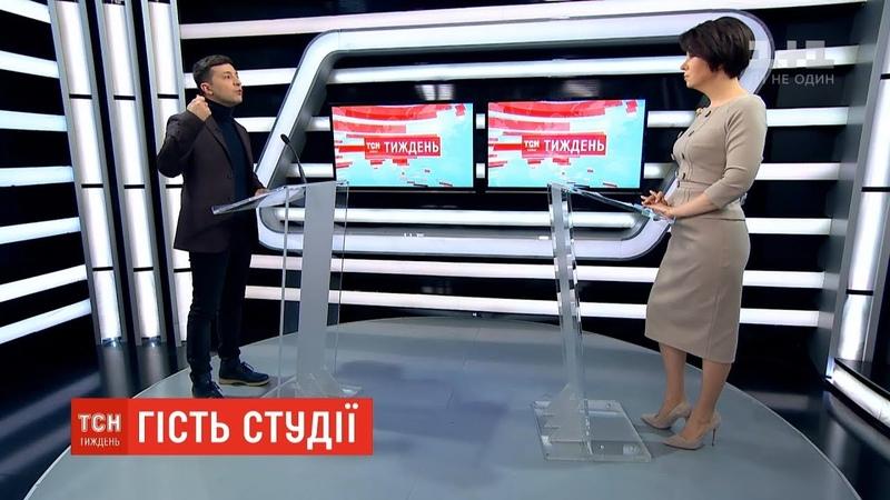 Зеленський ексклюзивно розповів про повернення Криму мову та боротьбу з корупцією