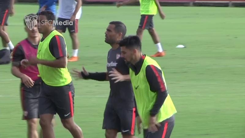 Partidillo contra el Sevilla Atlético para continuar con la semana