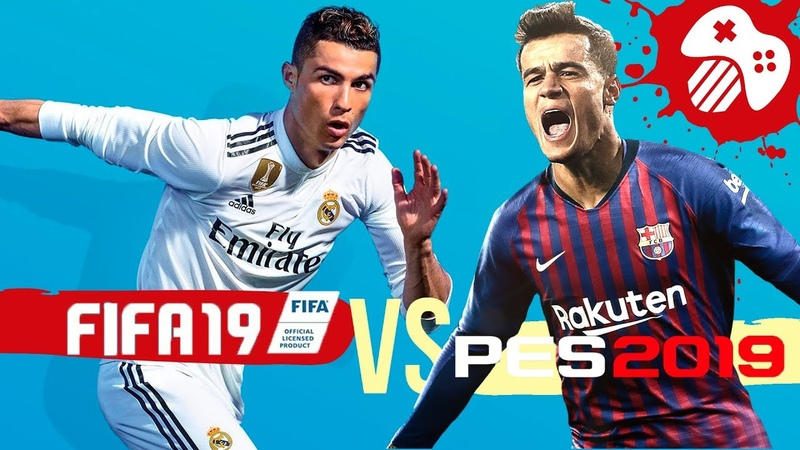 FIFA 19 против PES 2019