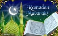 Поздравляю всех с наступлением благословленного месяца Рамадан! Пусть этот месяц будет для всех нас месяцам очищение , месяцам приближение к Аллаху посредством благих деяний и месяцам раскаяние в своих грехах и отстранение от них до Судного дня! Желаю всем терпения и всего благого!