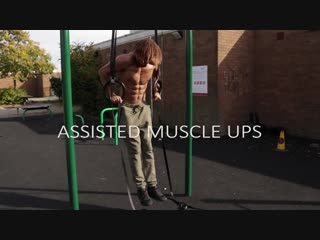 Выход силой. step by step muscle up tutorial