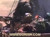 Редкие кадры из Ирака. 2004. Подбитый Абрамс из РПГ-7