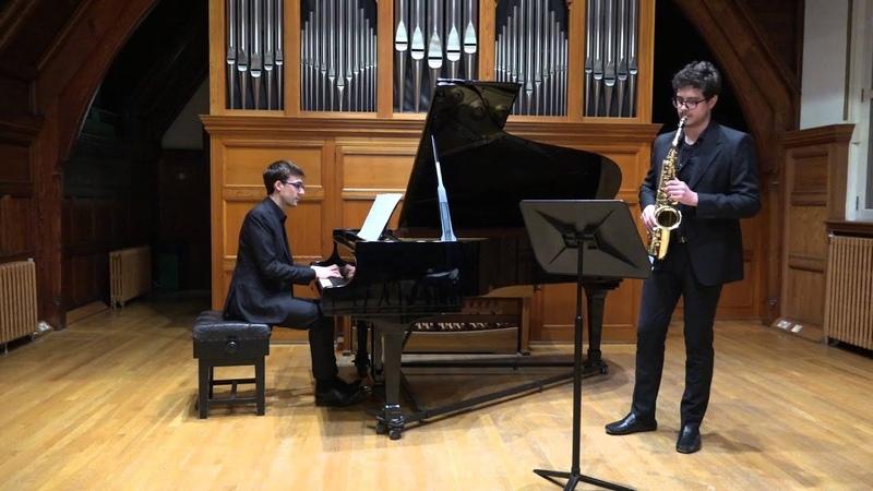 Albeniz: Tango Op.165 (Gerardo Gozzi, alto saxophone Stefano Marzanni, piano)