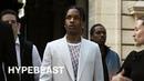 A$AP Rocky Kid Cudi KAWS at Highly Anticipated Dior Show in Paris
