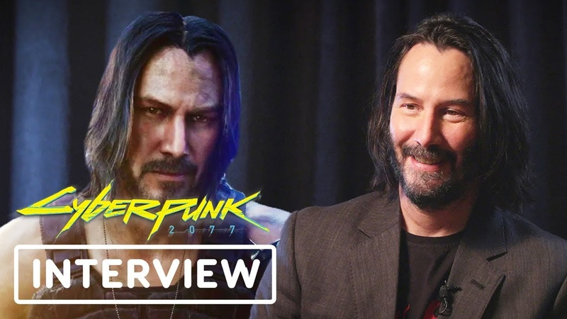 Keanu Reeves Talks About Whats Cool in Cyberpunk 2077 - E3 2019