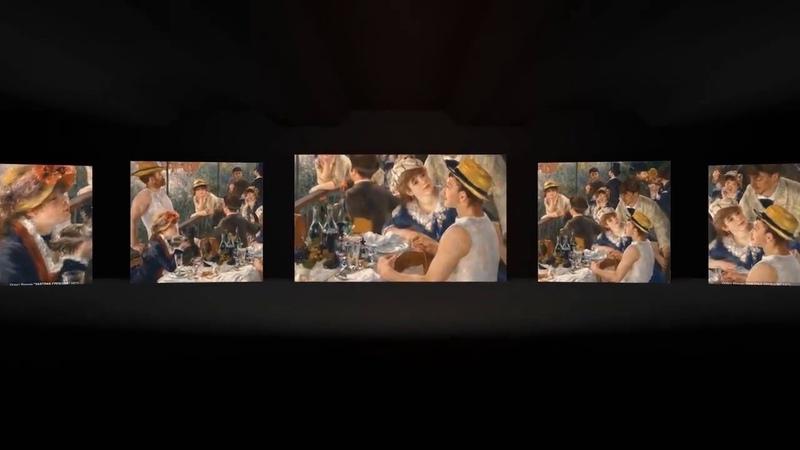 Мультимедийная выставка Французские импрессионисты. Живое искусство