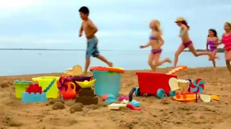 Игрушки для песочницы и пляжа BATTAT B.SUMMER