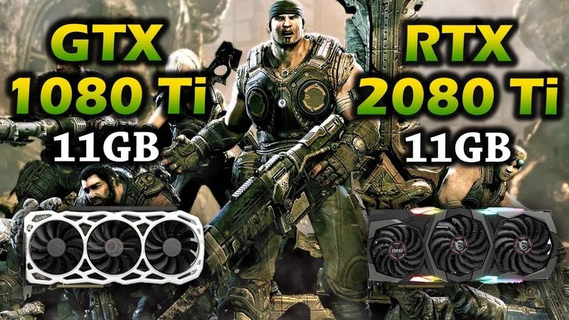 GTX 1080 Ti vs RTX 2080 Ti | Core i9 9900K PC Gameplay Benchmark