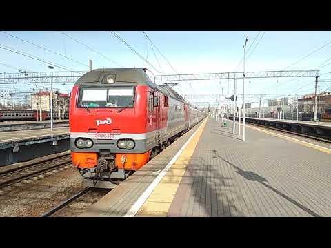 ЭП2К-338 с поездом 084 Северный Урал Приобье - Москва