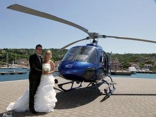 Вертолёт на свадьбу