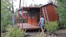 Модульный дом 5.8х4.4х2.9м с открытой верандой / Дачный домик / Бытовка / Модульные Технологии
