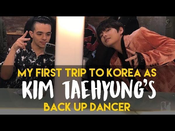 Back up Dancing for BTS member, Kim Taehyung || Korea - EP 8