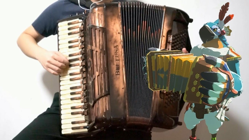 [Accordion]Kass Theme (The Legend of Zelda Breath of the Wild OST)-remake!