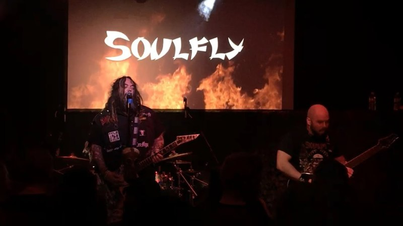Soulfly Blood Fire War Hate Live 4-17-18 From The Amazon To The Nile Tour Diamond Pub Louisville KY