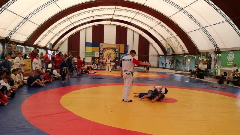 Суходолец Гордей, соревнования в Каролино-Бугаз, июнь 2018
