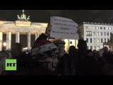 Митинг сторонников движения #PEGIDA в Берлине 26.01.15