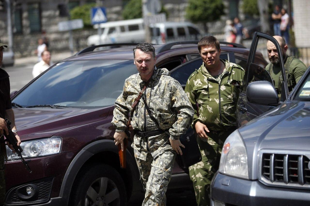 Игорь Стрелков прибыл на свадьбу