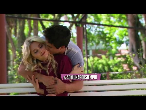 Simón abraza a Ámbar y la besa SoyLuna3 capítulo60 FINAL