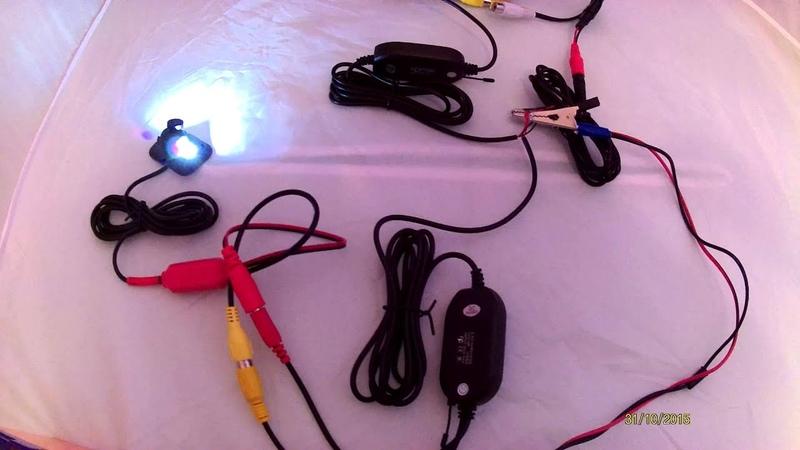 Беспроводная камера заднего вида с монитором E365 (www.e7-shop.ru)