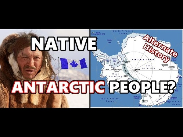 Alternate History What if Antarctica had a Native Population