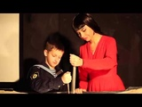 Kseniya Simonova & her son Dima create a sand world |Ксения Симонова и сын Дима создают песочный мир