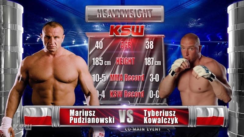 KSW Free Fight Mariusz Pudzianowski vs. Tyberiusz Kowalczyk