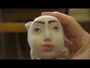 Видео зарисовка Рисуем Личико куклы