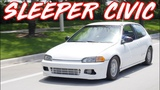 500HP Sleeper Civic Smokes Supercar on the Street! - $5000 Budget Build