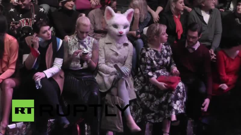 Germany Frocks, fetish and protest at Berlin Fashion Week