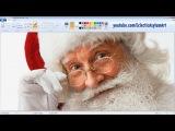 Санта нарисованный в Microsoft Paint
