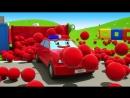 Детская Площадка с Машинками. Развивающий Мультфильм для Детей