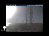Giant object picked up on an aviation camera, It looks like a craft, (Disclose S