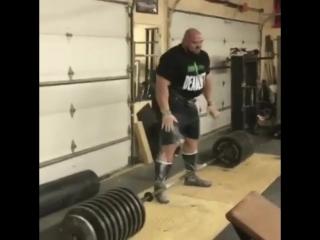 Брайан Шоу - тяга 469 кг