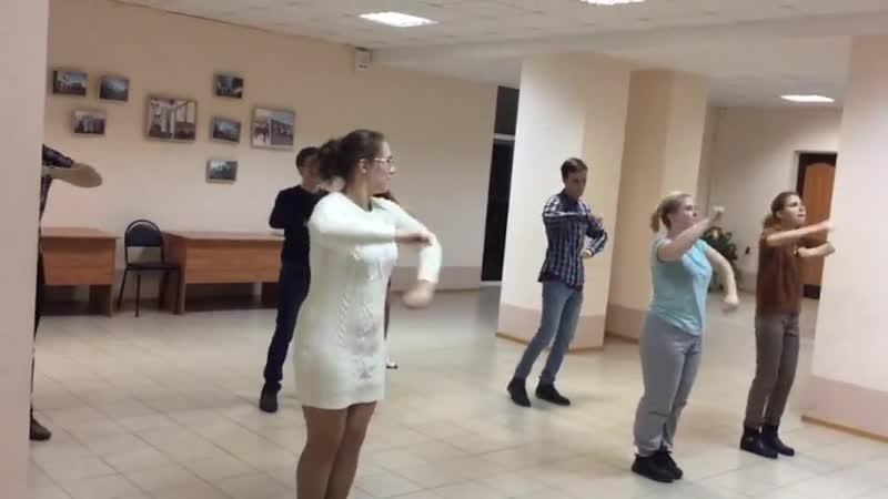 Массовый танец попытка 2
