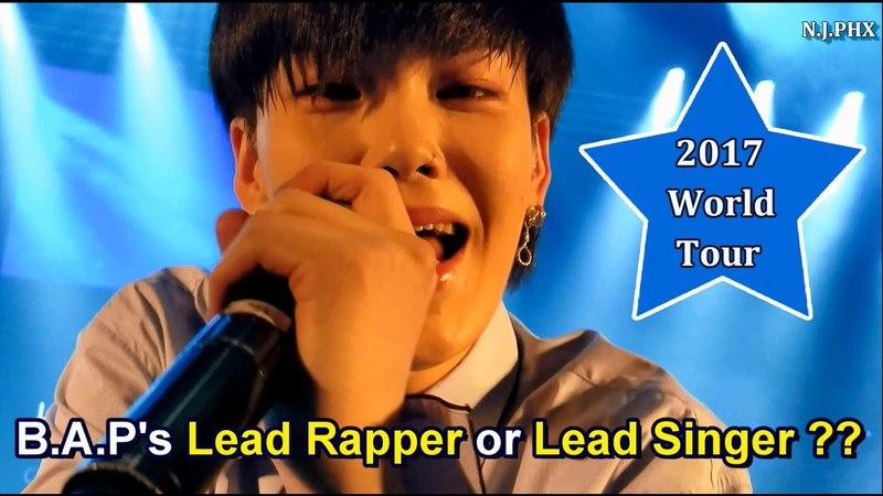 B.A.P Zelo 젤로 [ENG] Solo SHINE Rapper or Vocalist 🙄 World Tour Party Baby Atlanta 최준홍