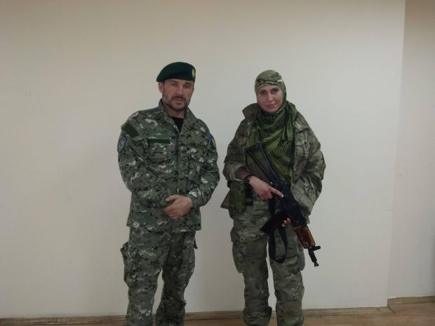 Иса Мунаев и Амина Окуева