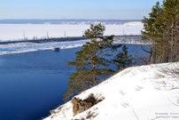 10 марта 2018 - По Могутовой горе в Жигулевске от оленя к Жигулевской ГЭС