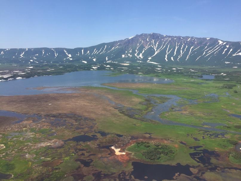 Вертолетная экскурсия. Кальдера вулкана Узон